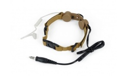 TACTICAL THROAT MIC - Z 033-DE